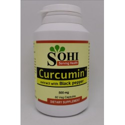 Curcumin extract with Black pepper (Curcuma longa)