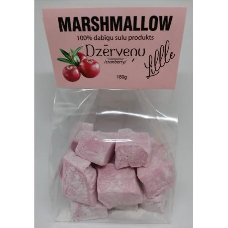 """Marshmallow """"Dzērveņu"""""""