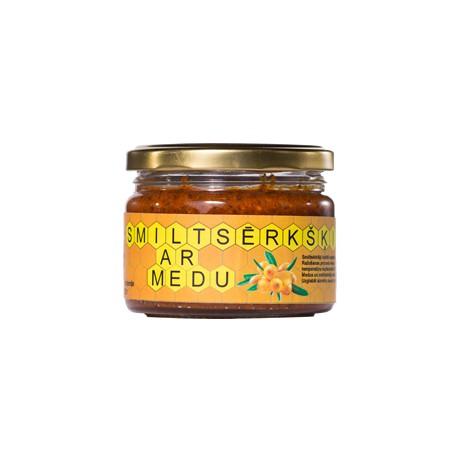 Ogas medū ar bišu maizi